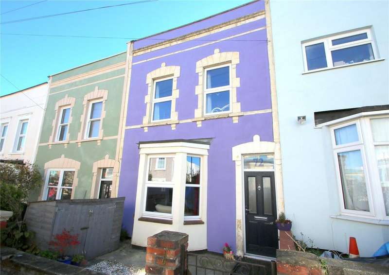 3 Bedrooms Terraced House for sale in Hill Street, Totterdown, BRISTOL, BS3