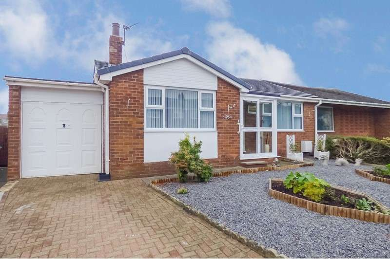 2 Bedrooms Bungalow for sale in Douai Drive, Consett, Durham, DH8 7DN