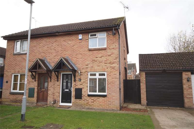2 Bedrooms Semi Detached House for sale in Saltersgate Close, Lower Earley, READING, Berkshire