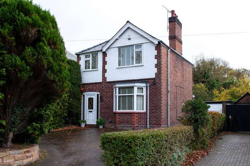 3 Bedrooms Detached House for sale in Beach Road, Hartford, Northwich, CW8