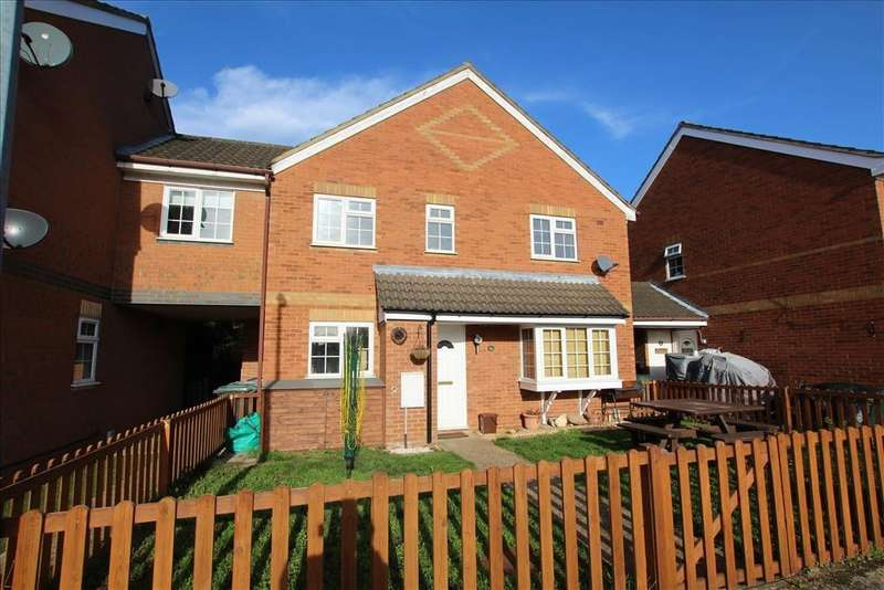 2 Bedrooms Cluster House for sale in Grosvenor Gardens, Biggleswade, SG18