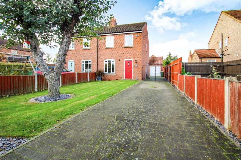 3 Bedrooms Semi Detached House for sale in East Ferry Road, Wildsworth, Gainsborough