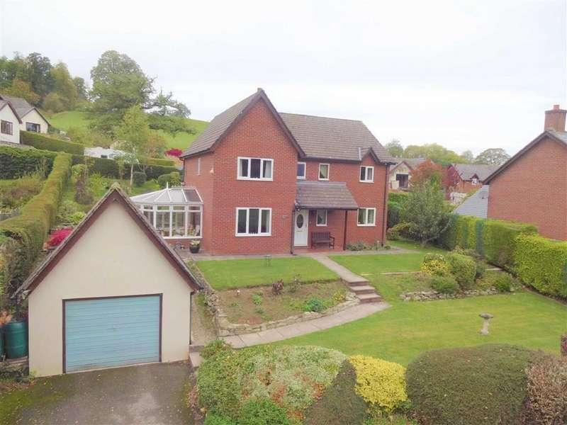 4 Bedrooms Detached House for sale in 3, Llwyn-Y-Garth, Llanfyllin, Pows, SY22