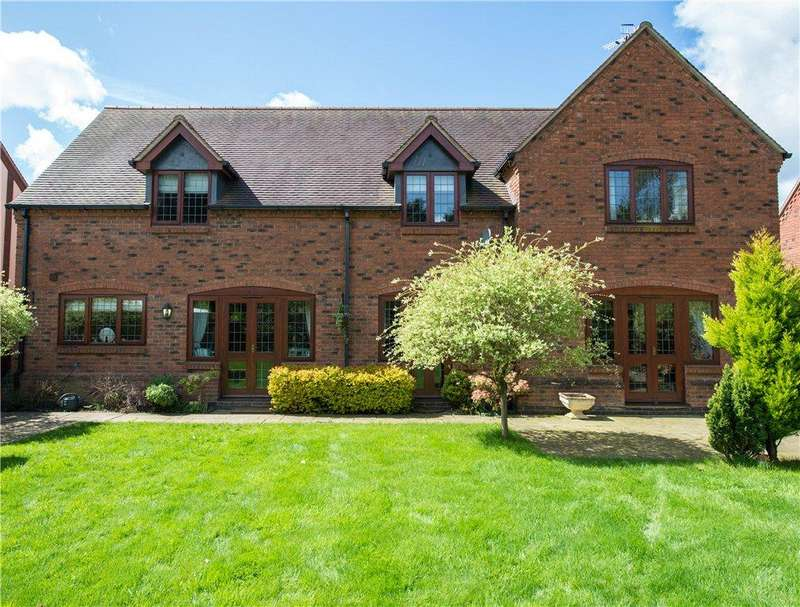4 Bedrooms Detached House for sale in Westfield Park, Hallow, Worcestershire, WR2