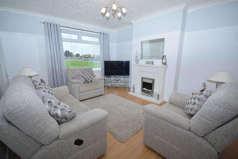 2 Bedrooms Ground Flat for sale in Hareshaw Drive, Kilmarnock, KA3