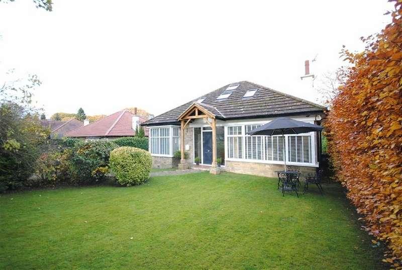 4 Bedrooms Detached Bungalow for sale in West Park Drive East, Roundhay, Leeds, LS8