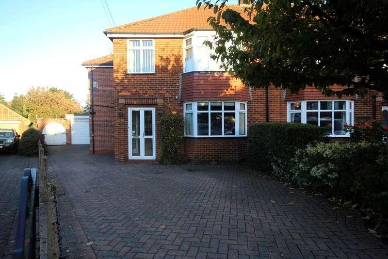 4 Bedrooms Semi Detached House for sale in Windsor Close, Cottingham, HU16