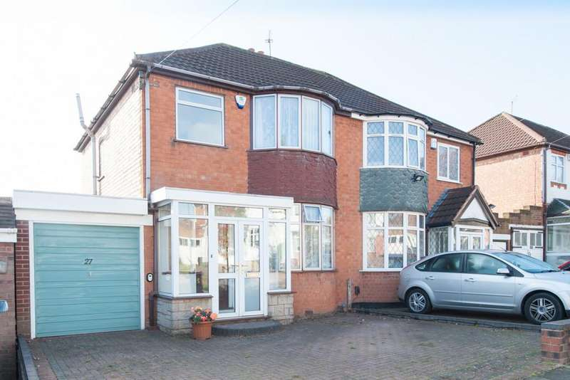 3 Bedrooms Semi Detached House for sale in Mildenhall Road, Great Barr, Birmingham