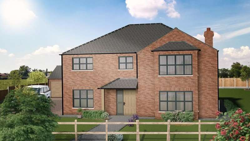 4 Bedrooms Detached House for sale in The Chestnut, Plot 3, Westfield Park, Louth