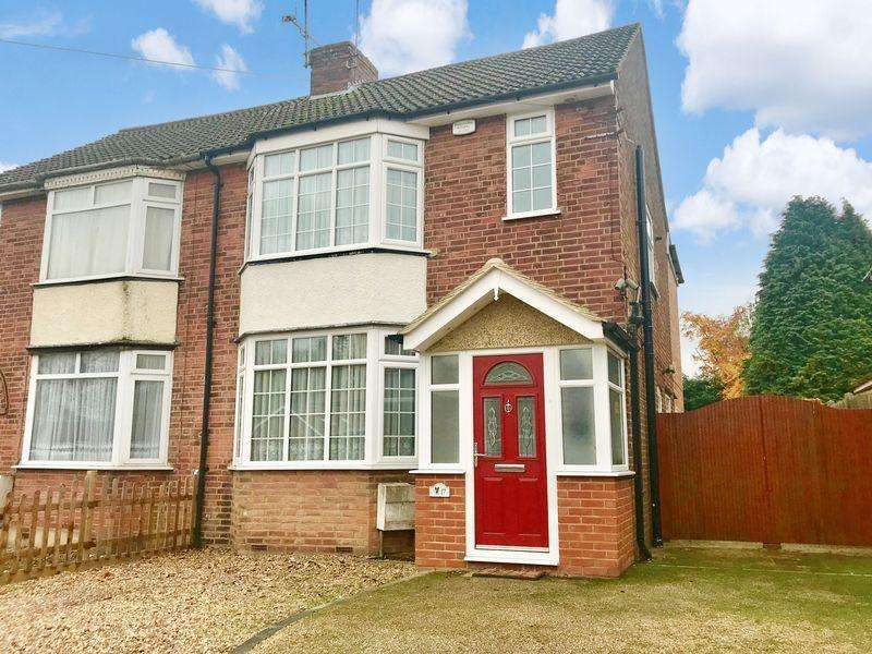 3 Bedrooms Semi Detached House for sale in Double Storey Extension. Slip End