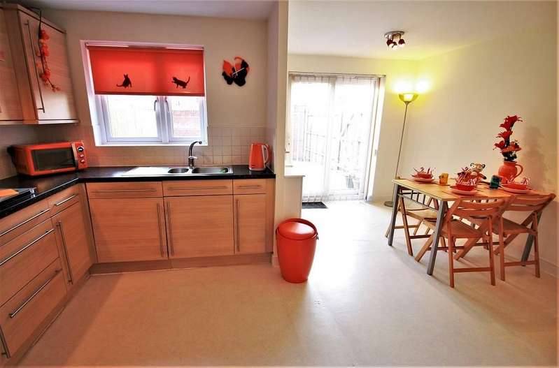 3 Bedrooms Semi Detached House for sale in Lock Keepers Way, Hanley, Stoke On Trent