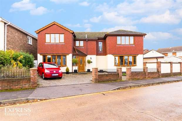 4 Bedrooms Detached House for sale in Nursery Close, Rayleigh, Essex