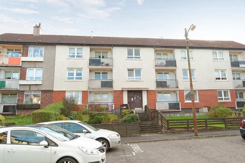 2 Bedrooms Flat for sale in Eriboll Place, Lambhill, Glasgow, G22 6PA