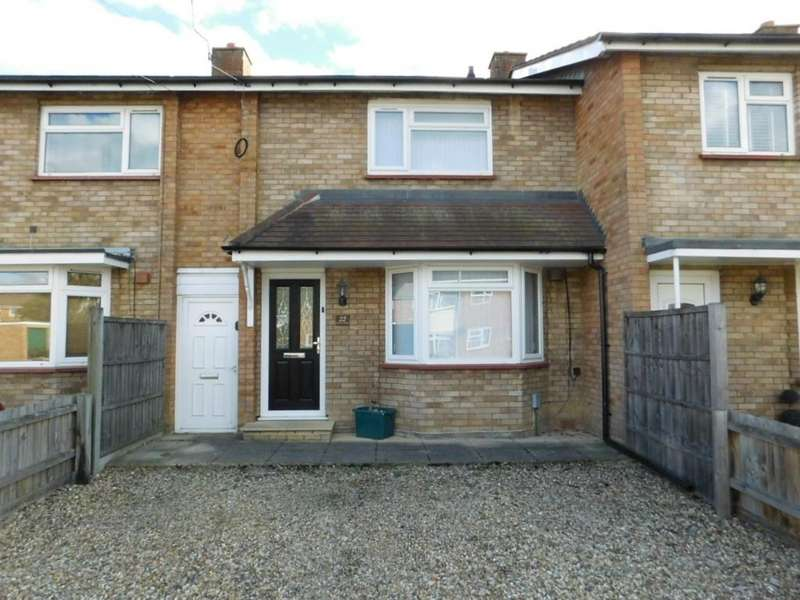 2 Bedrooms Terraced House for sale in Carters Way, Arlesey, Beds SG15 6UQ