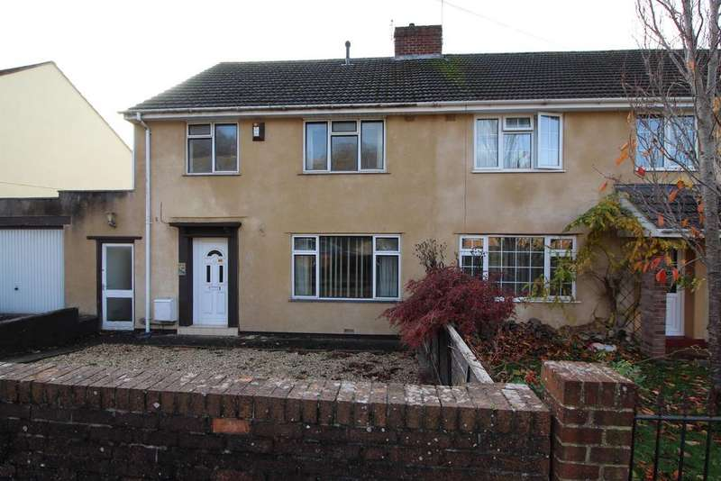 3 Bedrooms Semi Detached House for sale in Melrose Avenue, Yate, Bristol, BS37 7AN