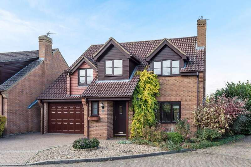 4 Bedrooms Detached House for sale in Beech Close, Pulloxhill, MK45