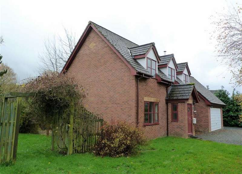 4 Bedrooms Detached House for sale in Trefechan, 2, Dolybont, St Harmon, Rhayader, Powys, LD6