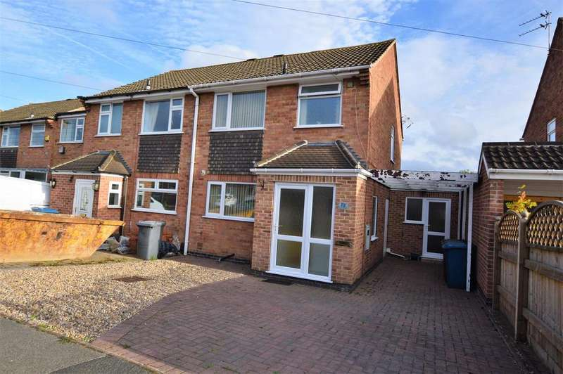 3 Bedrooms Semi Detached House for sale in Stonebridge Drive, East Leake, Loughborough