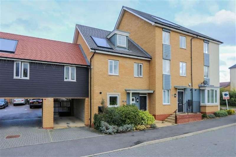 3 Bedrooms Town House for sale in Syward Row, Stratford Park, Milton Keynes, Buckingham