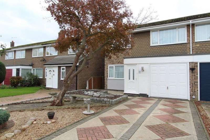 3 Bedrooms Semi Detached House for sale in Exeter Close, Great Horkesley, Colchester, CO6