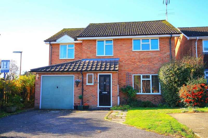 5 Bedrooms Detached House for sale in 16 Oldbury Close Frimley,Surrey GU16 8XT