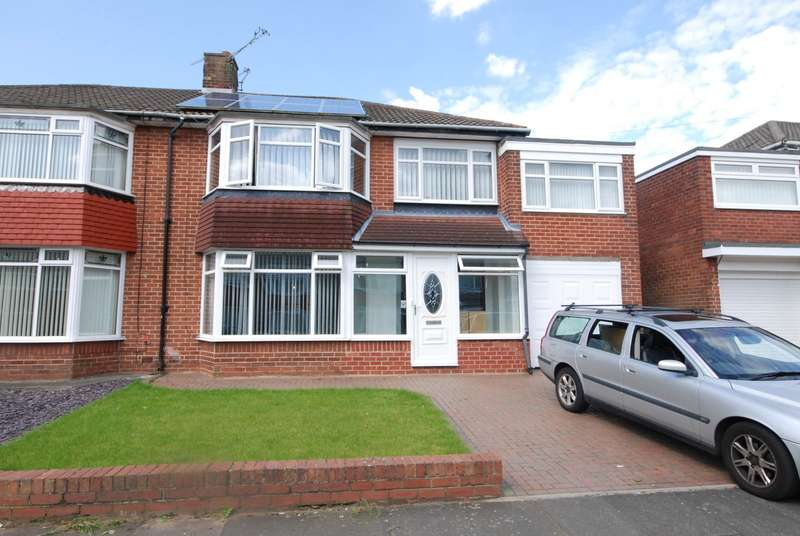 5 Bedrooms Semi Detached House for rent in Easedale Avenue, Gosforth