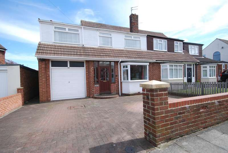 5 Bedrooms Semi Detached House for sale in Ravensbourne Avenue, East Boldon