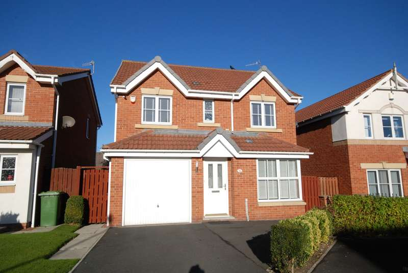 4 Bedrooms Detached House for sale in Manor Gardens, Wardley