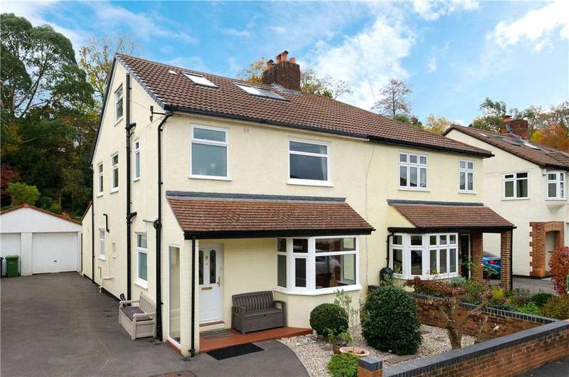 4 Bedrooms Semi Detached House for sale in Glen Drive, Stoke Bishop, Bristol, BS9