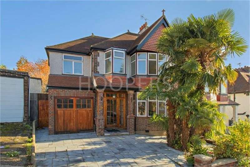 5 Bedrooms Semi Detached House for sale in Hillcrest Gardens, London, NW2