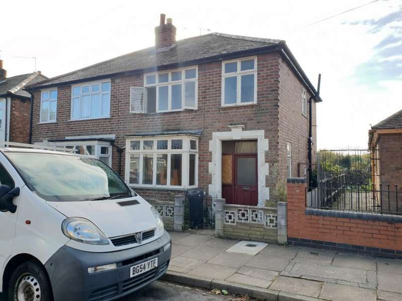 3 Bedrooms Semi Detached House for sale in Orton Road, Off Abbey Lane, Leicester