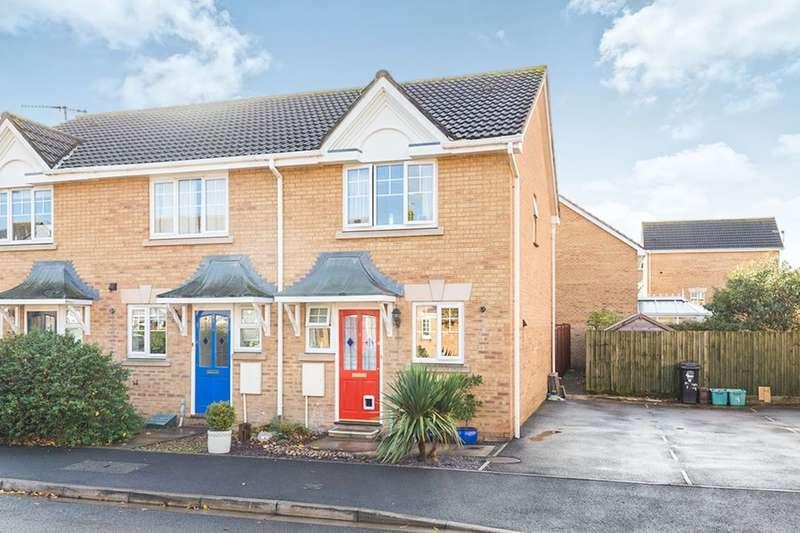 2 Bedrooms Semi Detached House for sale in Tydeman Road, Portishead, Bristol, BS20