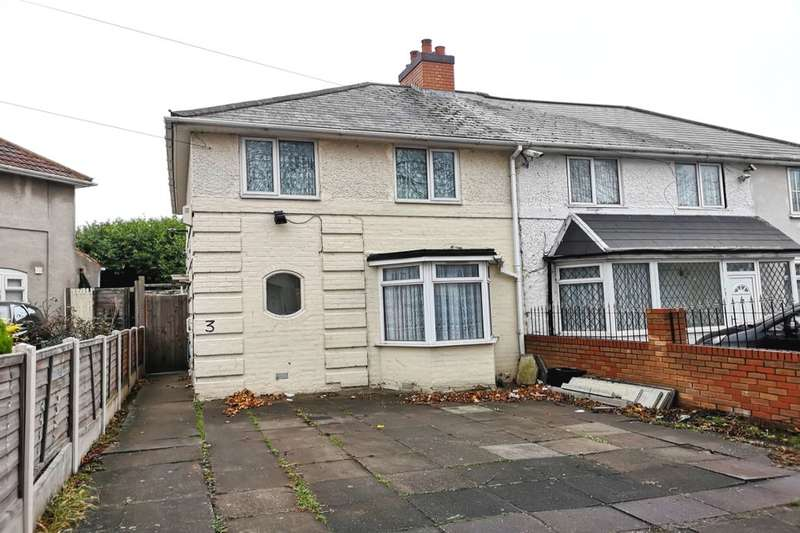 3 Bedrooms Semi Detached House for sale in Carcroft Road, Yardley, Birmingham, B25