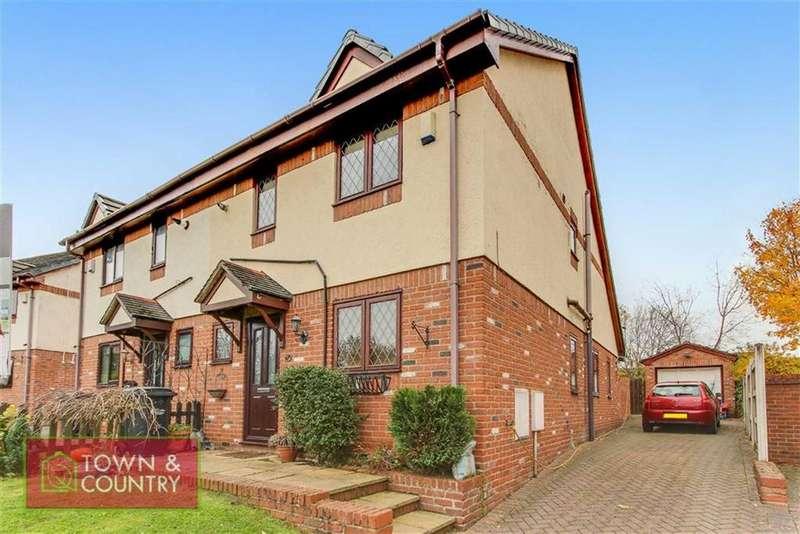3 Bedrooms Semi Detached House for sale in Thornfields, Shotton, Deeside, Flintshire