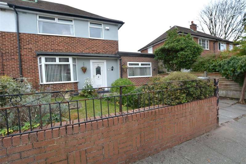 4 Bedrooms Semi Detached House for sale in Washbrook Drive, Stretford, Manchester, M32