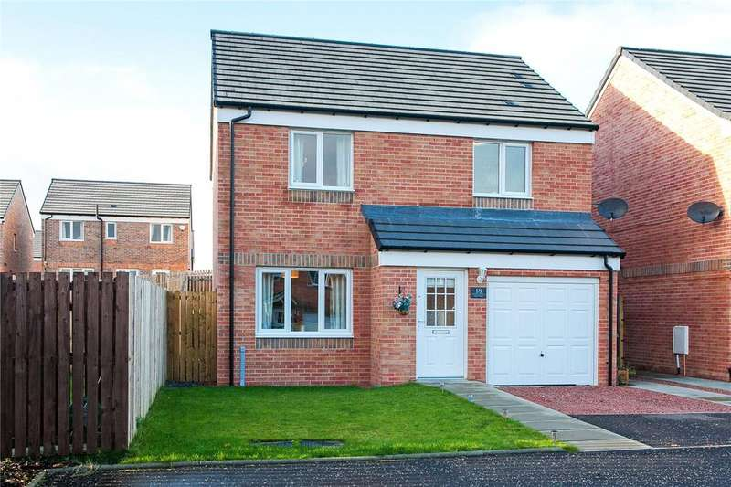 3 Bedrooms Detached House for sale in Glenmill Crescent, Darnley