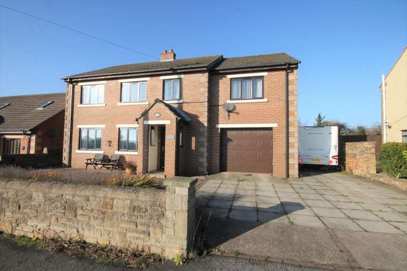 4 Bedrooms Detached House for sale in Sharmic House, South Side, Butterknowle, Bishop Auckland