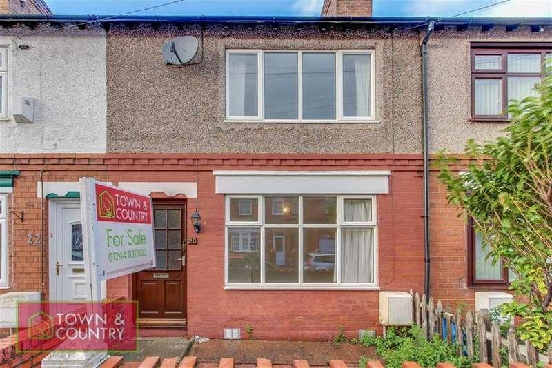 2 Bedrooms Terraced House for sale in Wellington Street, Shotton, Deeside, Flintshire