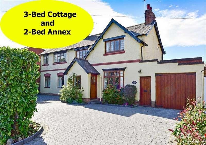 5 Bedrooms Detached House for sale in Gable Cottage, 35, Finchfield Lane, Wolverhampton, West Midlands, WV3