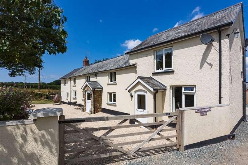 4 Bedrooms Detached House for sale in Ashwater,, Beaworthy, Devon, EX21