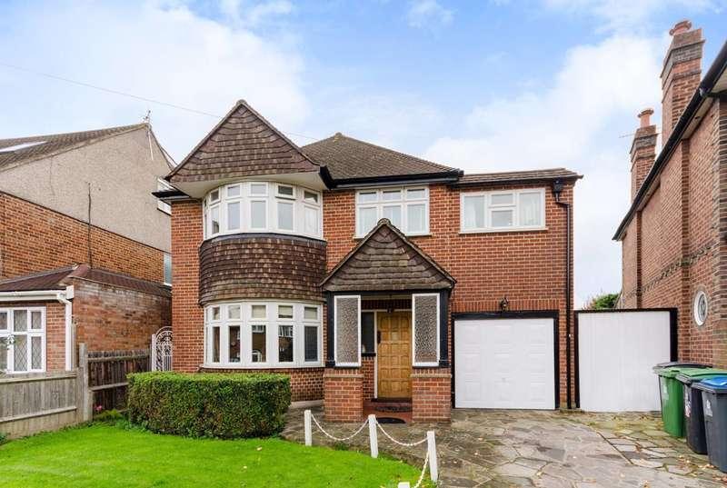 4 Bedrooms Detached House for sale in Downfield, Worcester Park, KT4
