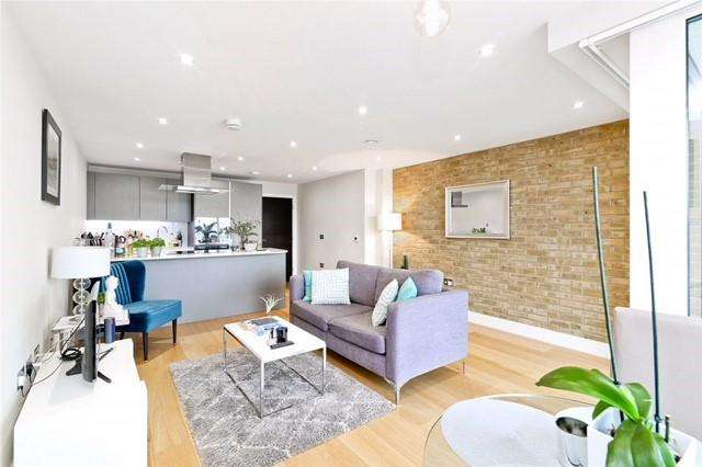 2 Bedrooms Apartment Flat for sale in Wapping Riverside, Marc Brunel House, Wapping, E1W