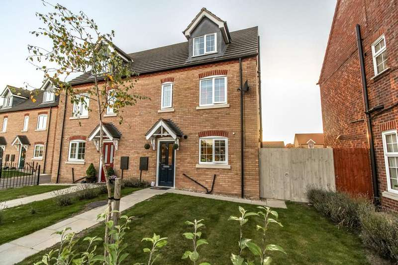 4 Bedrooms Semi Detached House for sale in Spalding, Lincolnshire