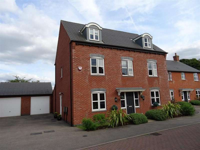 5 Bedrooms Detached House for sale in Stonebridge Close, Ibstock, Leicestershire