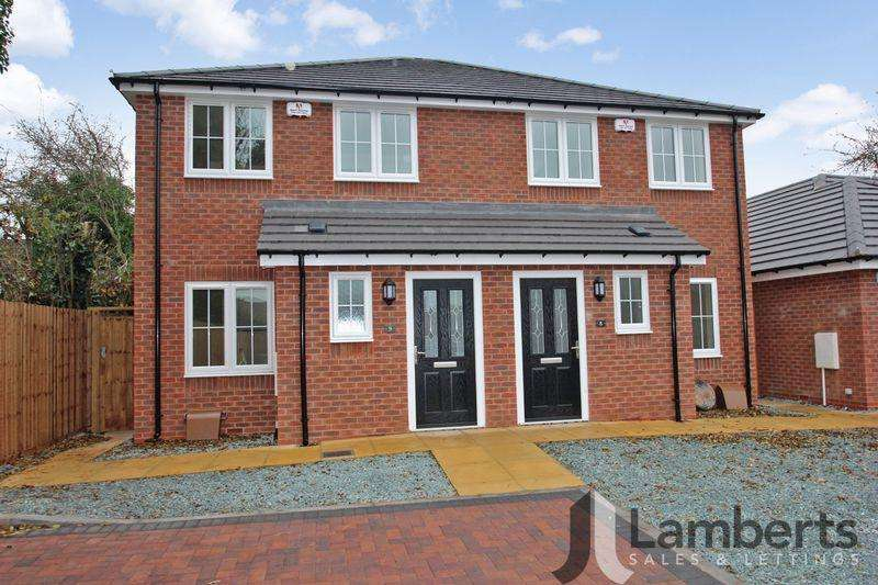 3 Bedrooms Semi Detached House for sale in Railway Close, Studley