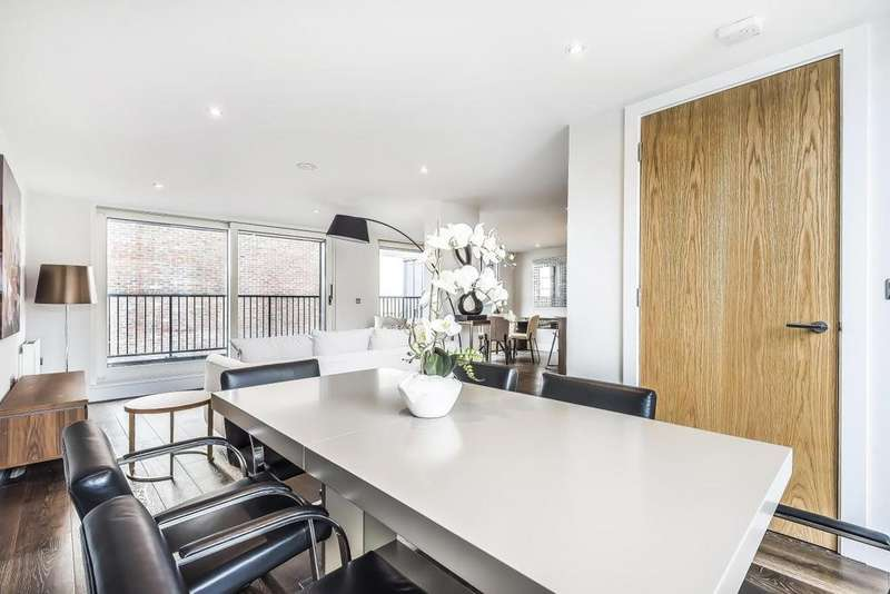 3 Bedrooms Penthouse Flat for sale in Downham Road, Islington