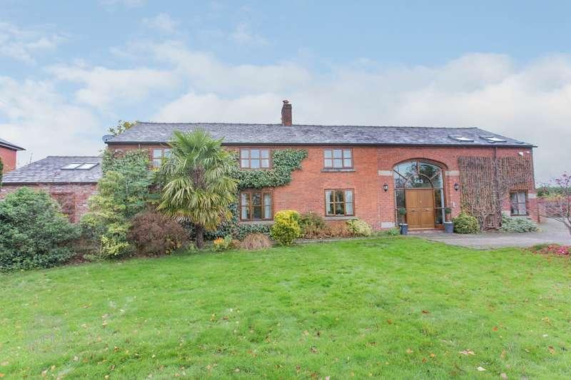 5 Bedrooms Detached House for sale in Mustard Lane, Croft, Warrington, WA3