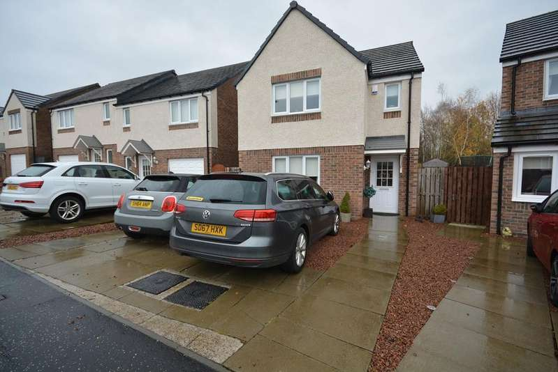 3 Bedrooms Detached House for sale in Jean Armour Drive, Annandale, Kilmarnock, KA1