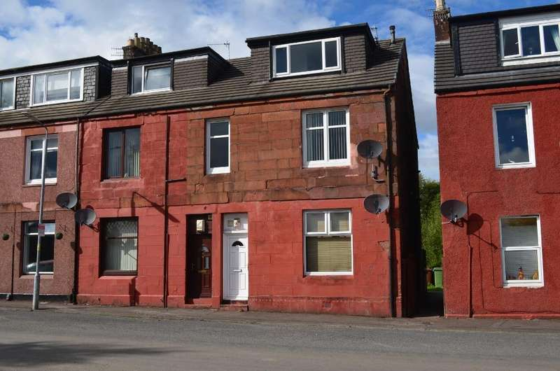3 Bedrooms Flat for sale in Wilson Street, Flat 1, Alexandria, West Dunbartonshire, G83 0EE