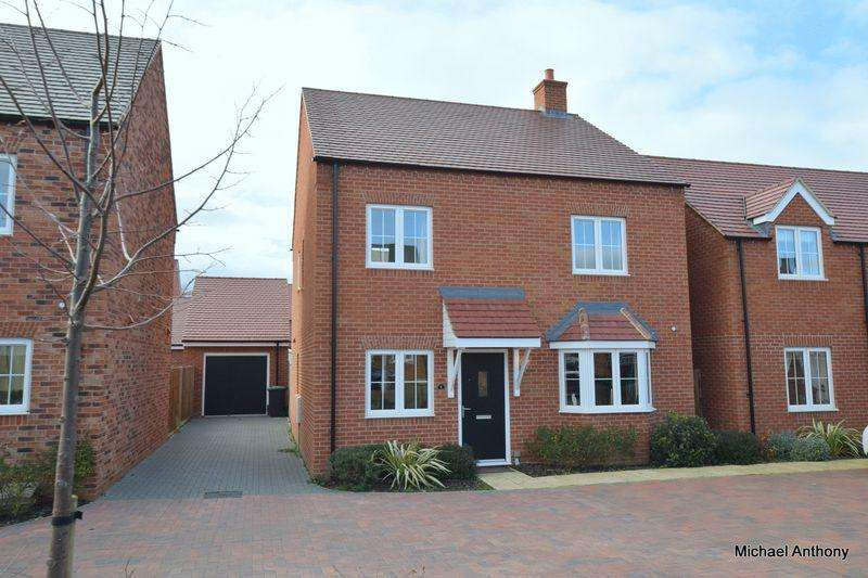 4 Bedrooms Detached House for sale in Harcourt, Cranfield, Bedford
